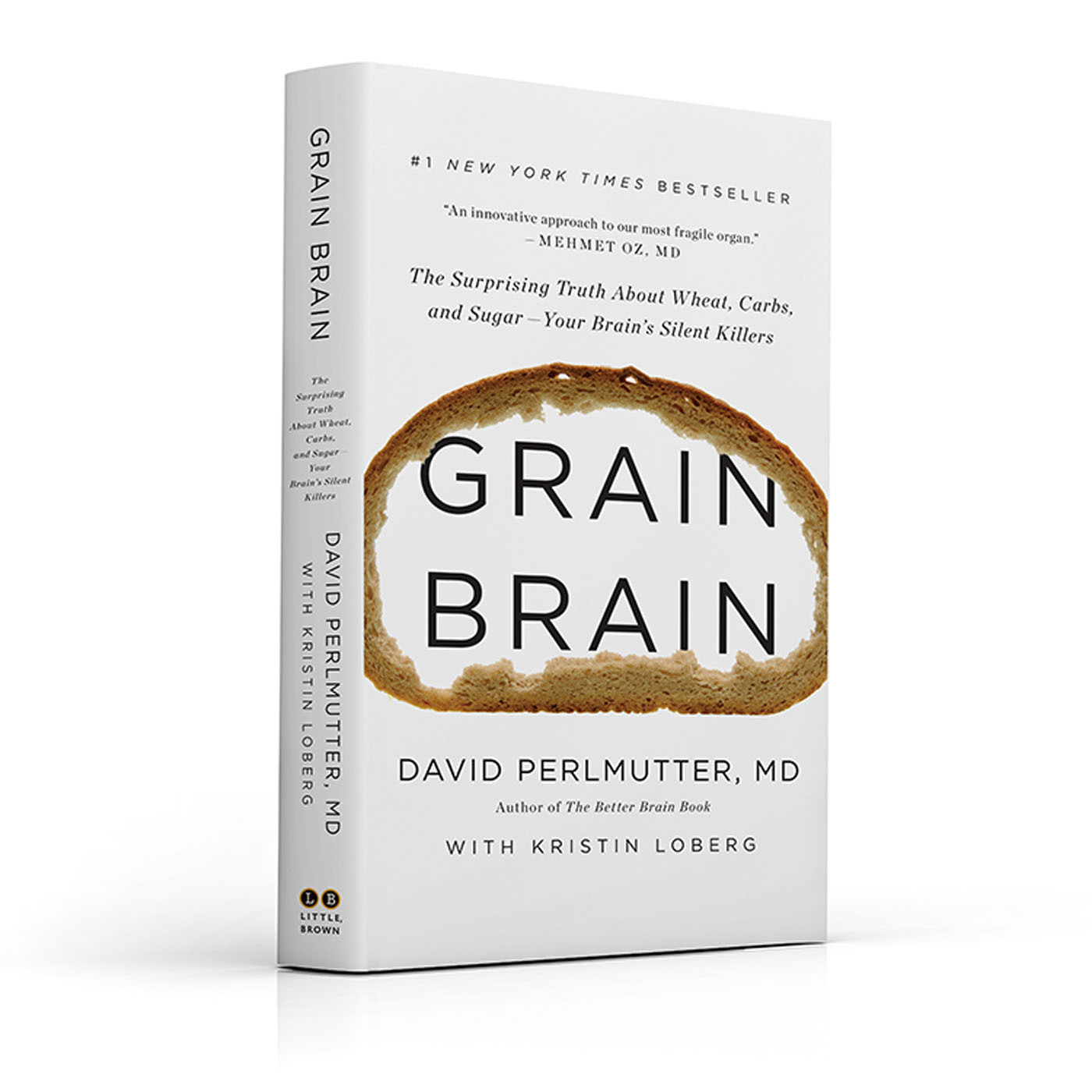 "#1 New York Times Bestseller, ""Grain Brain"".  (PRNewsFoto/Krupp Kommunications)"